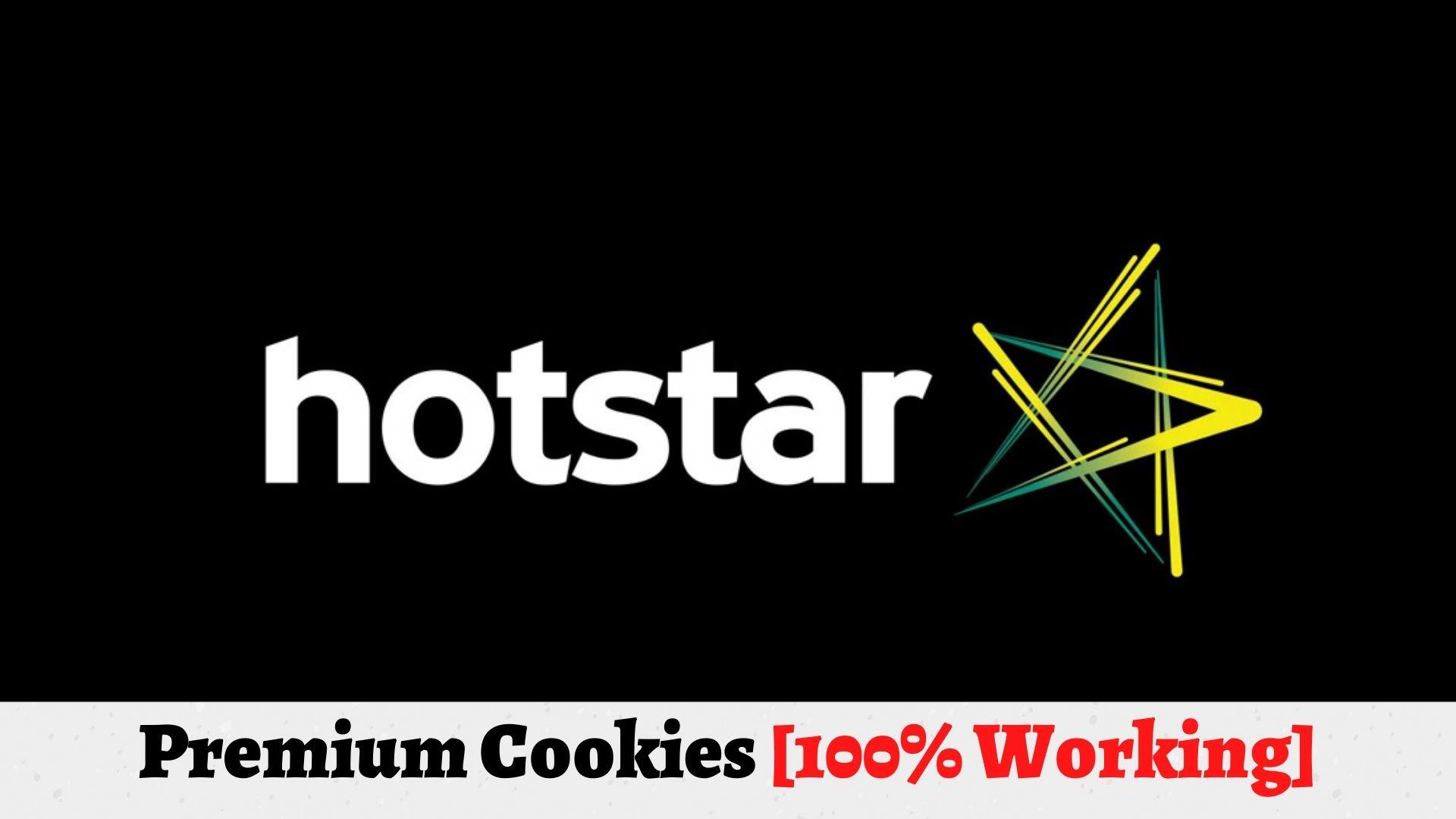 Hotstar Cookies
